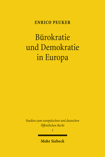 Bürokratie und Demokratie in Europa