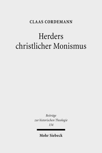 Herders christlicher Monismus