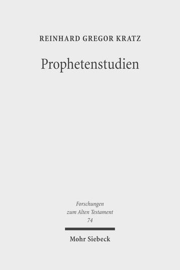 Prophetenstudien