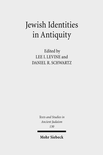 Jewish Identities in Antiquity
