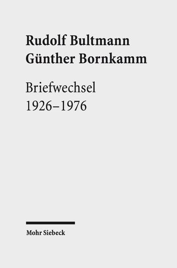 Briefwechsel 1926–1976