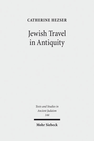 Jewish Travel in Antiquity