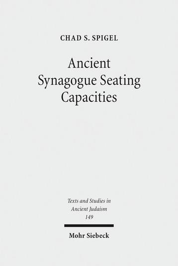 Ancient Synagogue Seating Capacities