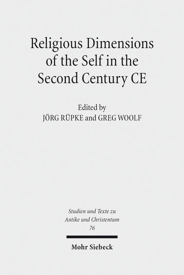 Religious Dimensions of the Self in the Second Century CE