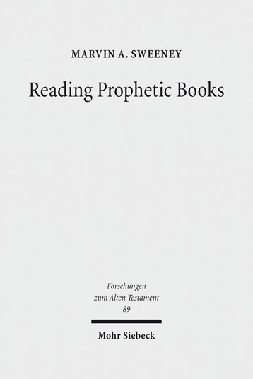 Reading Prophetic Books