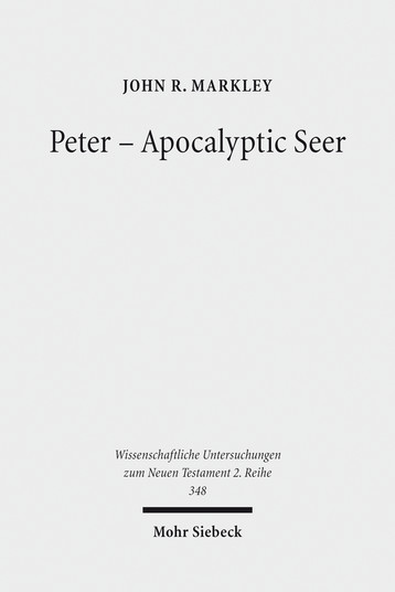 Peter – Apocalyptic Seer