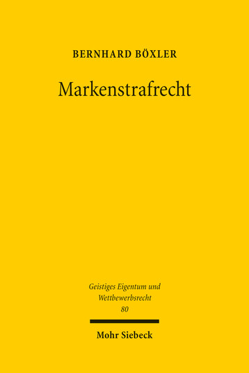 Markenstrafrecht