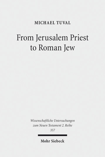 From Jerusalem Priest to Roman Jew