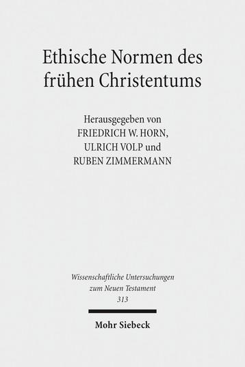 Ethische Normen des frühen Christentums