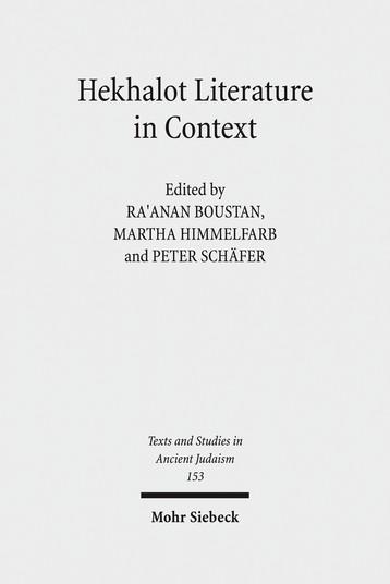 Hekhalot Literature in Context