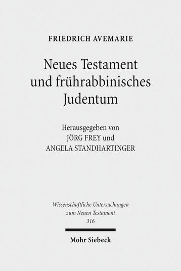 Neues Testament und frührabbinisches Judentum
