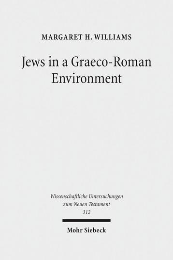 Jews in a Graeco-Roman Environment