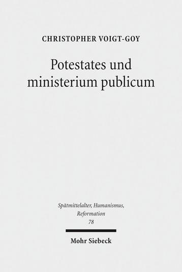 Potestates und ministerium publicum