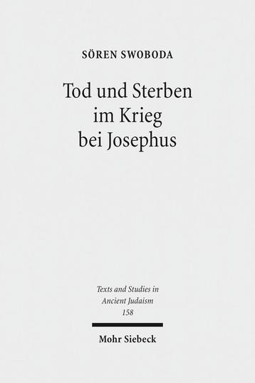 Tod und Sterben im Krieg bei Josephus