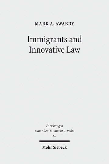 Immigrants and Innovative Law