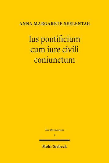 Ius pontificium cum iure civili coniunctum