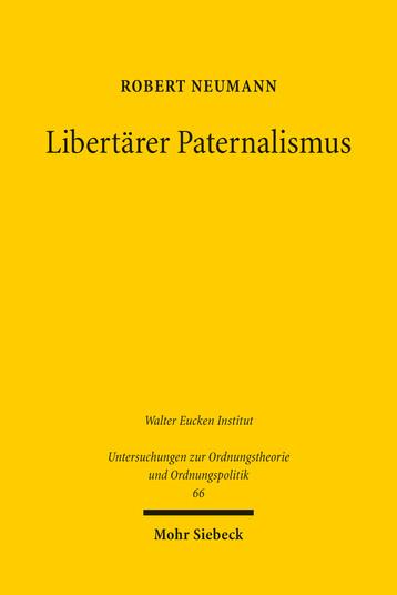 Libertärer Paternalismus