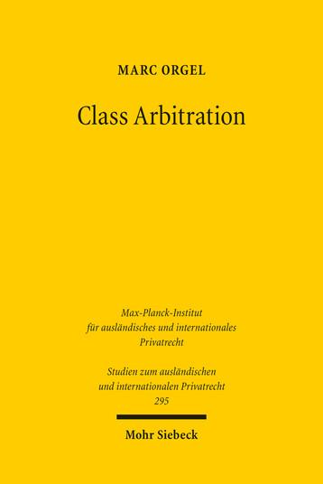 Class Arbitration