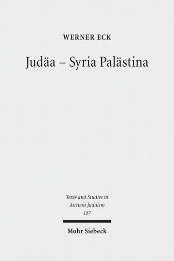 Judäa – Syria Palästina