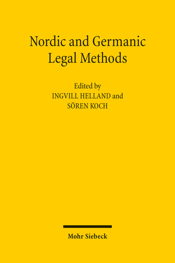 Nordic and Germanic Legal Methods