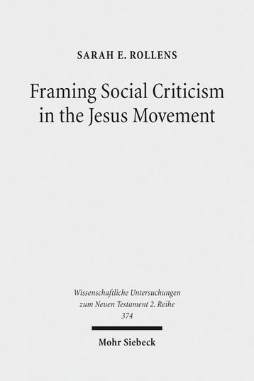 Framing Social Criticism in the Jesus Movement