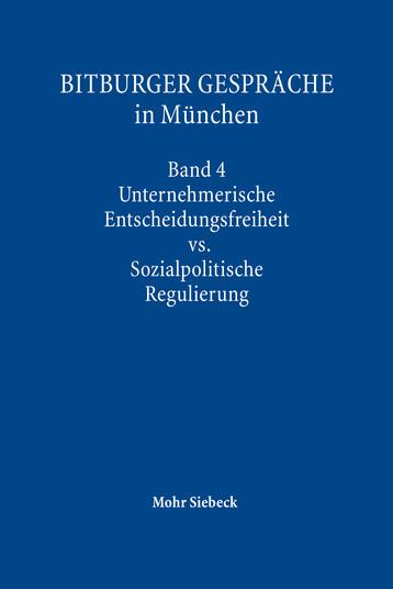 Bitburger Gespräche in München