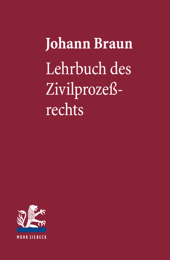Lehrbuch des Zivilprozeßrechts