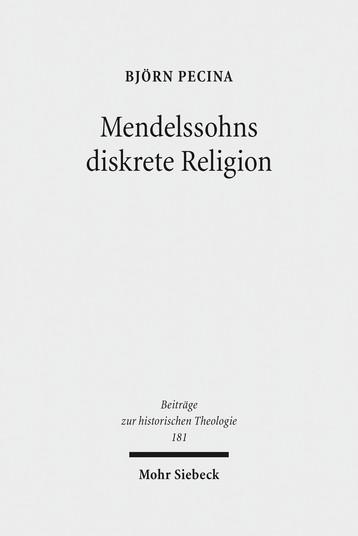 Mendelssohns diskrete Religion