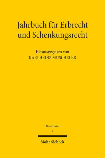 Hereditare – Jahrbuch für Erbrecht und Schenkungsrecht
