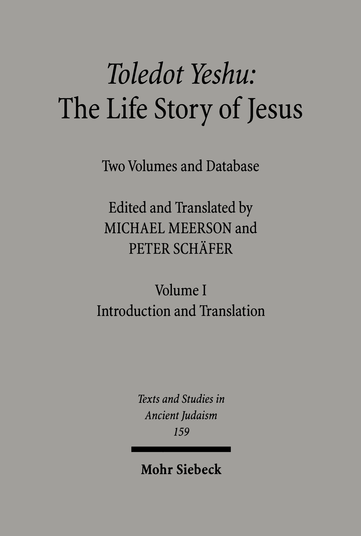 Toledot Yeshu: The Life Story of Jesus