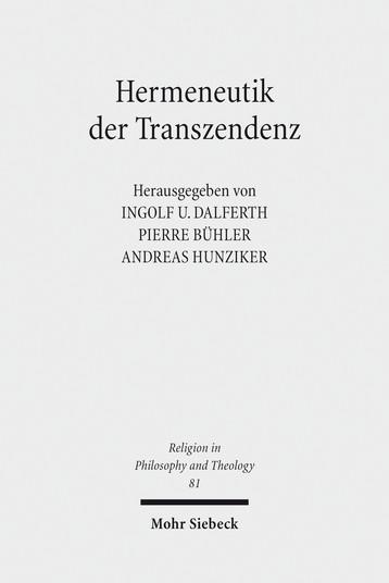 Hermeneutik der Transzendenz