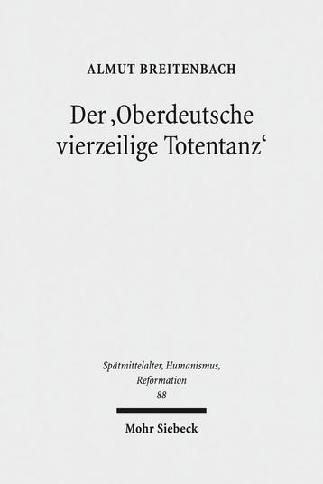 Der 'Oberdeutsche vierzeilige Totentanz'