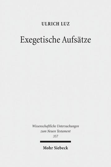 Exegetische Aufsätze
