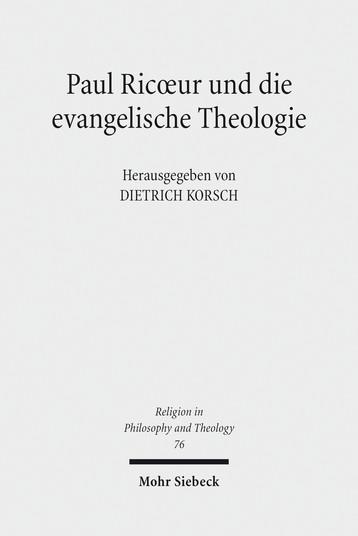 Paul Ricoeur und die evangelische Theologie