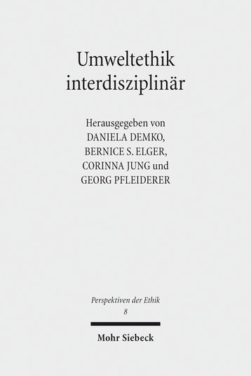 Umweltethik interdisziplinär