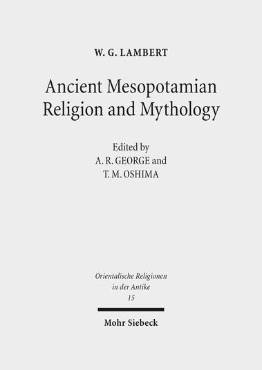 Ancient Mesopotamian Religion and Mythology