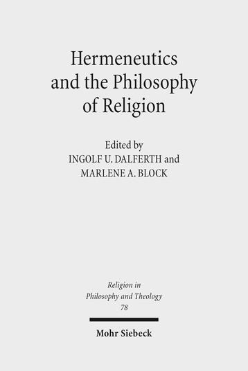 Hermeneutics and the Philosophy of Religion