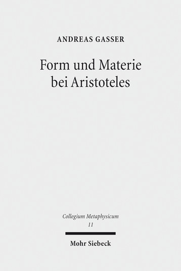 Form und Materie bei Aristoteles