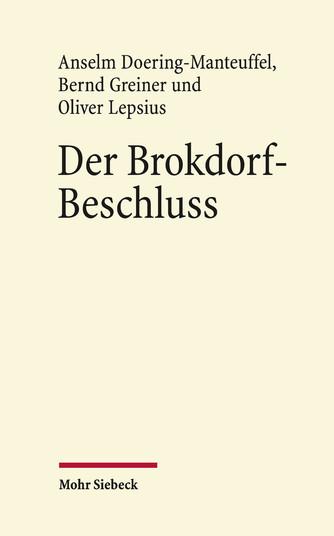 Der Brokdorf-Beschluss des Bundesverfassungsgerichts 1985