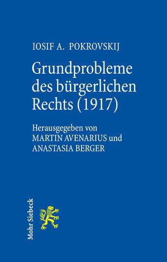 Grundprobleme des bürgerlichen Rechts (1917)