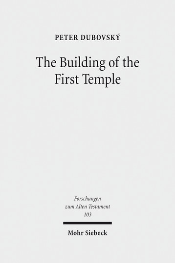 The Building of the First Temple