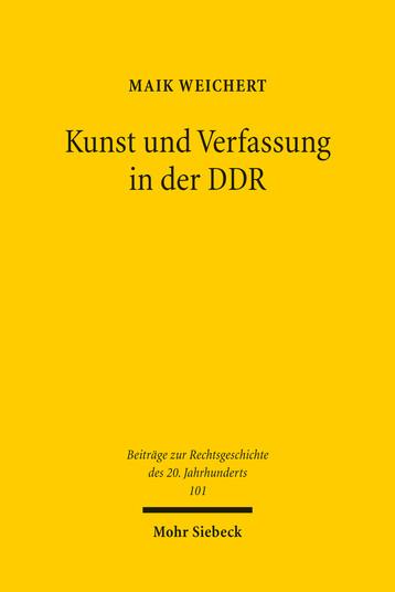 Kunst und Verfassung in der DDR