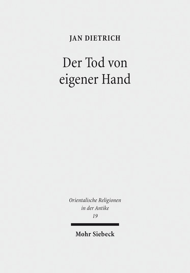 Der Tod von eigener Hand