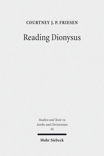 Reading Dionysus
