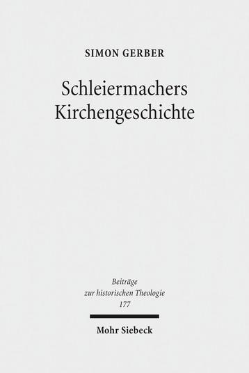 Schleiermachers Kirchengeschichte