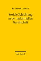 Soziale Schichtung in der industriellen Gesellschaft