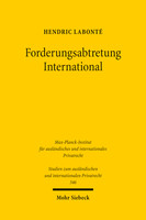 Forderungsabtretung International