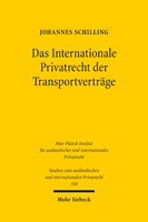 Das Internationale Privatrecht der Transportverträge
