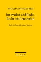 Innovation und Recht – Recht und Innovation