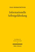 Informationelle Selbstgefährdung